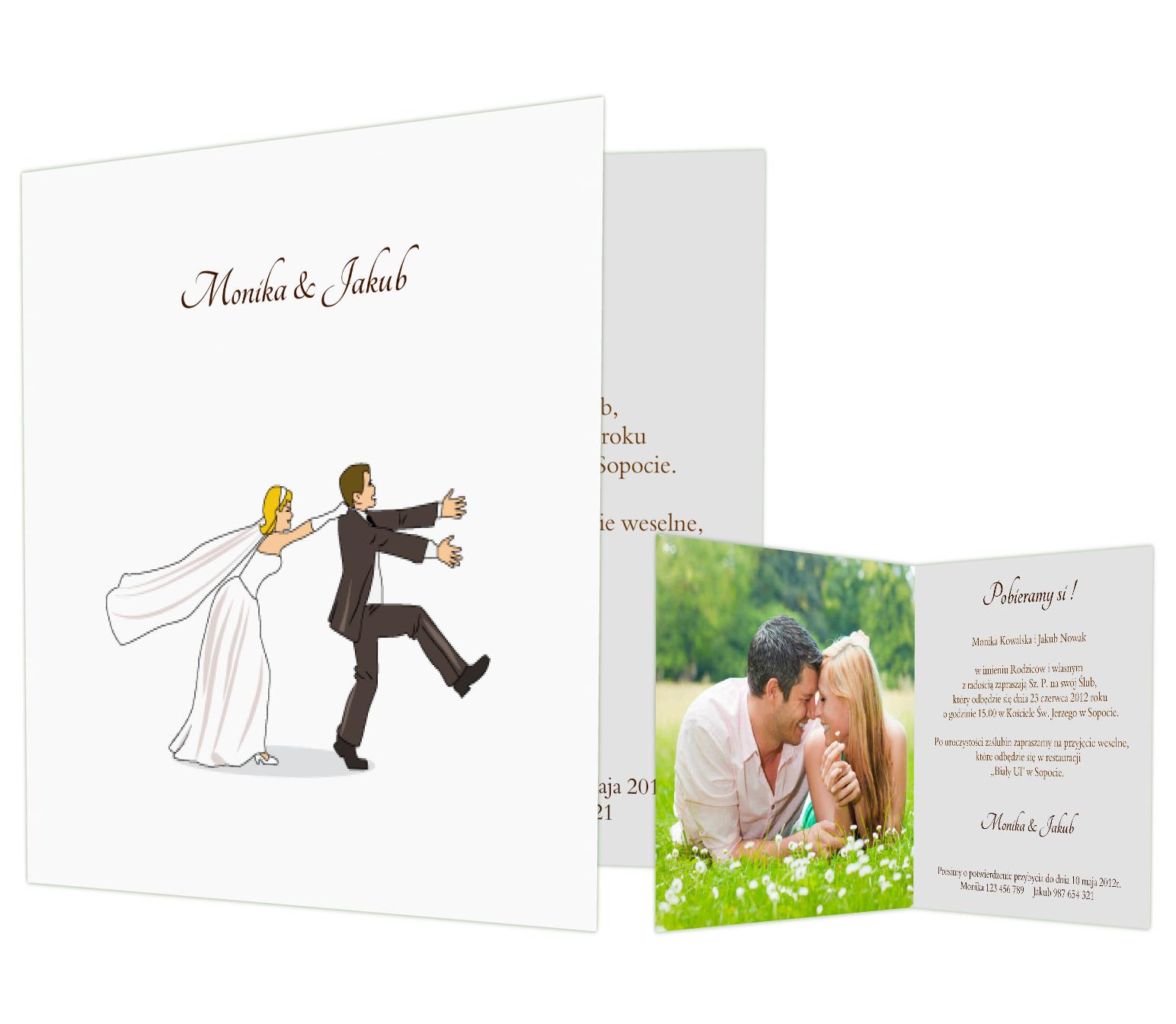 Zaproszenia ślubne Wykorzystujące Nietuzinkowe Szablony